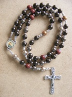bespoke saint francis necklace