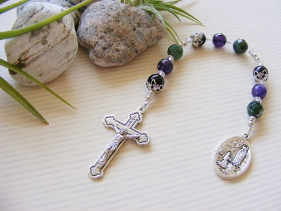 Lourdes Prayer Bead Chaplet